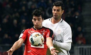 Yoann Gourcuff et les Rennais seront condamnés à l'exploit face au PSG de Thiago Motta.