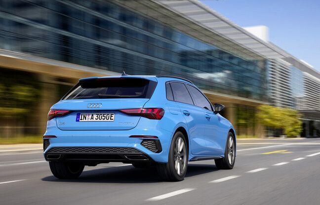 Audi A3 Sportback 40 TFSI e : l'hybride rechargeable débute à 38.100 €