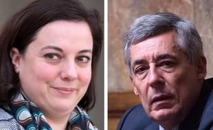 Montage des candidats battus aux législatives Emmanuelle Cosse  et Henri Guaino