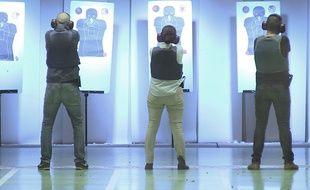 Un entraînement au tir dans un stand (illustration).