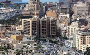 Vue de la ville portuaire libyenne Benghazi, le 1er novembre 2012
