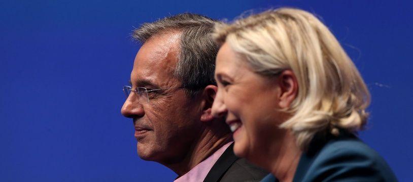 Thierry Mariani et Marine Le Pen