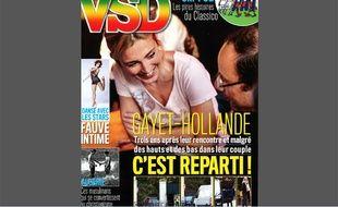 La une de VSD le 6 novembre 2014.