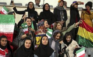 Les femmes sont bannies des stades en Iran depuis 1979.