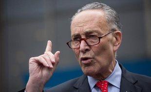 Le sénateur démocrate américain Charles Schumer à New York, le 15 mai 2015