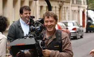 Le réalisateur Patrick Grandperret sur un tournage en 2004.