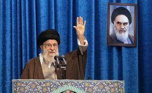 Le guide suprême iranien Ali Khamenei, le 17 janvier 2020.