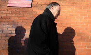 Ian Bailey arrive à la haute cour de justice de Dublin (Irlande), le 1er mars 2012.