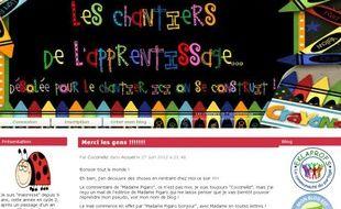 Le blog de Madame Figaro après modification.
