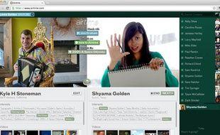 Airtime.com, le site de conversation vidéo via Facebook lancé en juin 2012 par Sean Parker et Shawn Fanning, les créateurs de Napster.