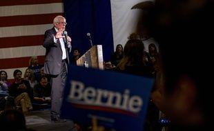 Bernie Sanders le  janvier  dans l'Iowa