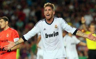 Le défenseur international espagnol du Real Madrid Sergio Ramos, laissé sur le banc par l'entraîneur des Merengue José Mourinho mardi contre Manchester City en Ligue des Champions, effectue son retour parmi les titulaires pour le match de championnat contre le Rayo Vallecano, lundi.