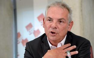 Thierry Lepaon, le secrétaire général de la CGT, le 3 octobre 2013.