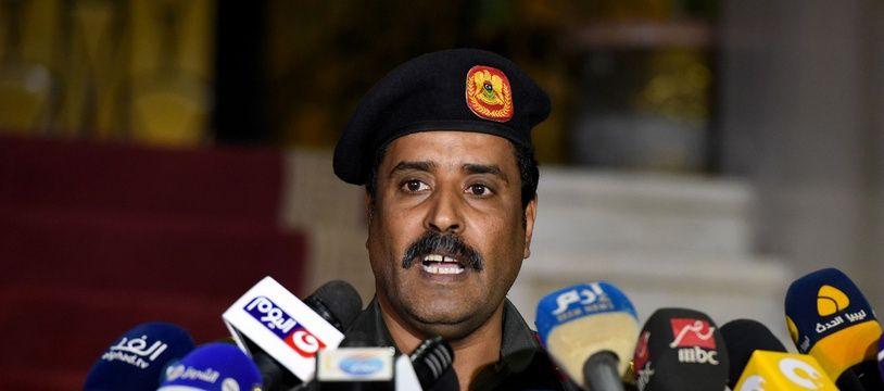 Le général Ahmad al-Mesmari est le porte-parole du maréchal Khalifa Haftar.