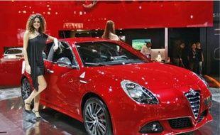 Pour soutenir le lancement de sa superbe Giulietta, Alfa Romeo propose 15 % de rabais.
