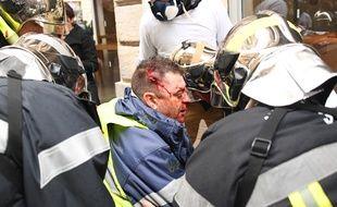 Olivier Béziade avait été sérieusement blessé à la tête alors qu'il participait à une manifestation de gilets jaunes.
