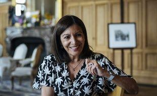 La maire de Paris, Anne Hidalgo, le 24 juin 2019, dans son bureau