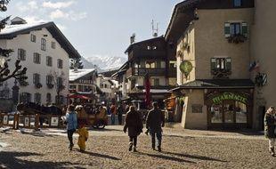 La station de Megève, en Haute-Savoie. Photo d'illustration.