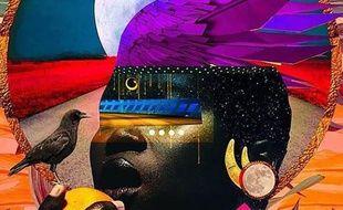 Collage ethnique pour la soirée Hype Afrika au Glazart