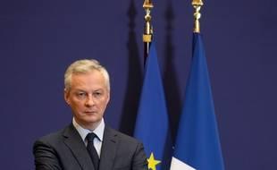 Bruno Le Maire à Bercy le 9 juin 2020.