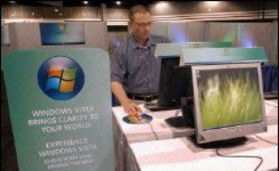 Le groupe Microsoft a indiqué jeudi sur son site internet que son prochain système d'exploitation, baptisé Windows Vista, intégrera une nouvelle technologie antipiratage.