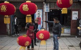 Dans la province de Shaanxi province le 15 février 2018.