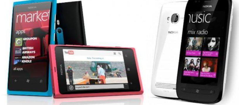 Les Nokia Lumia 800 et 710, premiers de la marque à embarquer Windows Phone 7.