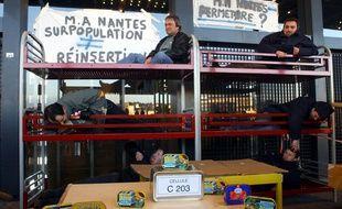 Déjà en 2004, des surveillants de la maison d'arrêt de Nantes avait reconstitué une
