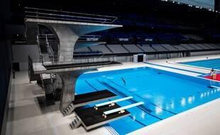 Illustration d'une piscine olympique.