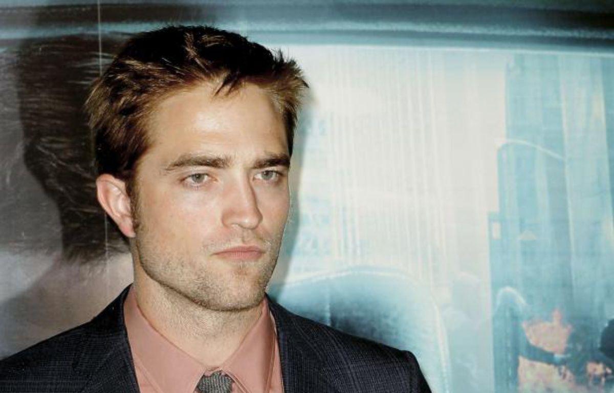 Robert Pattinson le 30 mai 2012 pour la promo de Cosmopolis. – Jacques Brinon/AP/SIPA