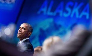 Barack Obama en Alaska, le 31 août 2015.