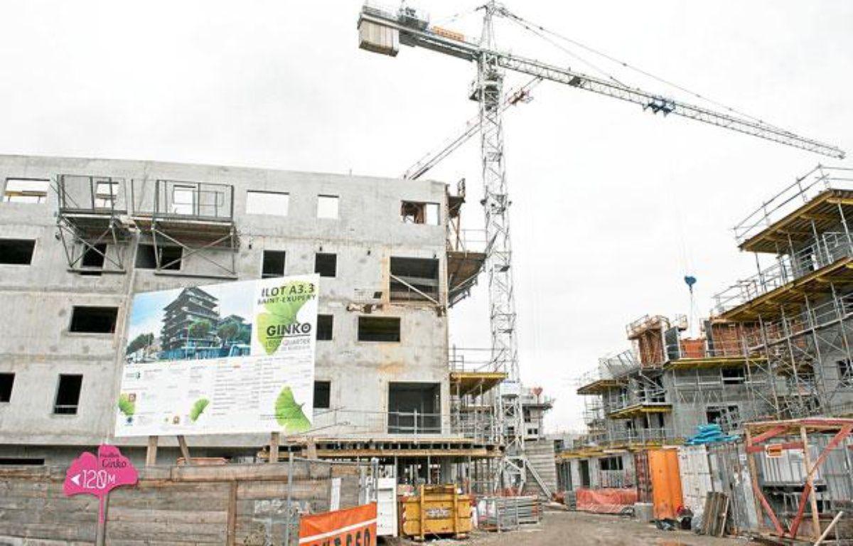 Construction de l'éco-quartier Ginko, à Bordeaux – S.ORTOLA/20MINUTES