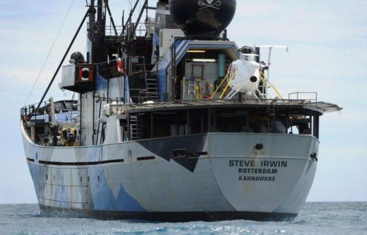 Des militants écologistes ont attaqué à la peinture et au fumigène la flotte baleinière japonaise dans l'océan Antarctique, ont annoncé jeudi les autorités de la pêche nippone. – Greg Wood afp.com