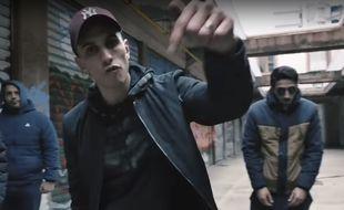 """Extrait du clip du morceau  du rappeur Vin's, """"#METOO""""."""