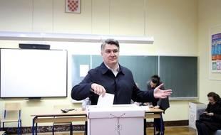 Zoran Milanovic est arrivé en tête du 1er tour de l'élection présidentielle Croate ce dimanche 22 décembre 2019.