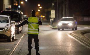 Des contrôles de gendarmerie réalisés en Haute-Garonne durant le couvre-feu.