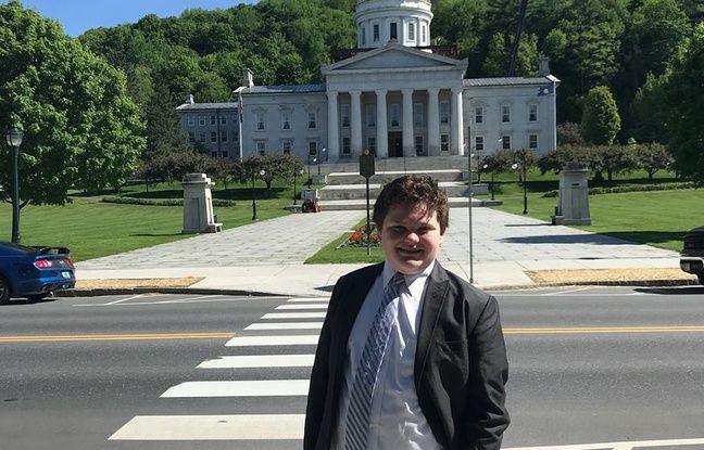 nouvel ordre mondial | VIDEO. Etats-Unis: A 14 ans, il est candidat au poste de gouverneur du Vermont