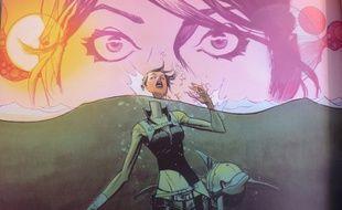 Image tirée de la BD The Wake (Urban Comics)