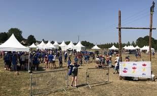 À Jambville, plus de 20.000 scouts sont réunis dans le cadre du rassemblement «Connecte»