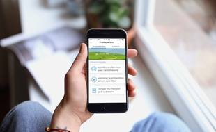 Illustration de l'application e-fitback de l'entreprise Nouveal.