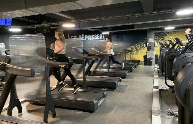La salle Fitness Park de Diderot, à Paris, le 9 juin 2021.