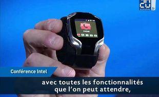La smartwatch d'Intel présentée au CES 20