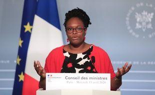 Sibeth Ndiaye, le 15 avril 2020 à Paris.