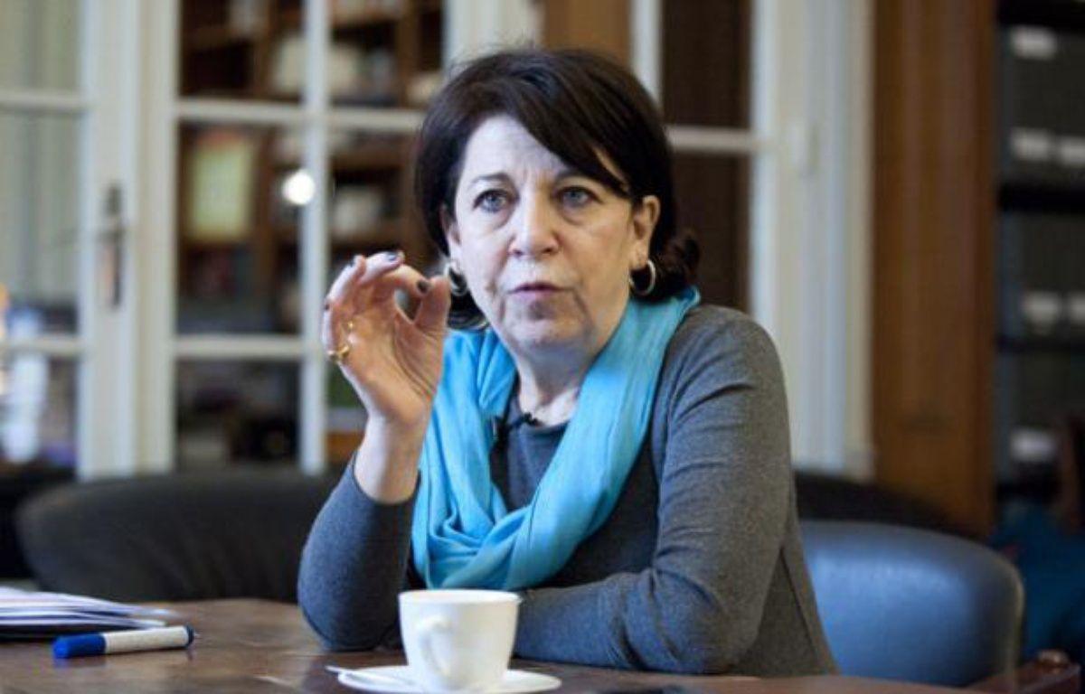 Corinne Lepage, candidate à l'élection présidentielle, présidente de Cap21, le 30 janvier à Paris. – V. WARTNER/20 Minutes