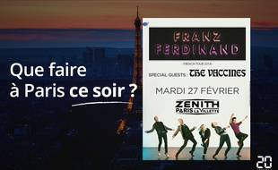 Franz Ferdinand passe au Zénith ce soir.