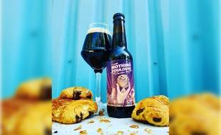 Les brasseurs toulousains de Ice Breaker Brewing ont sorti la bière à la chocolatine baptisée