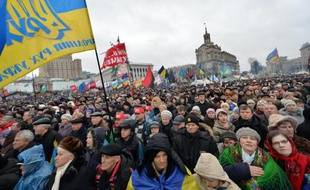 """L'opposante emprisonnée Ioulia Timochenko et des ONG occidentales ont dénoncé vendredi l'instauration d'une """"dictature en Ukraine"""" au lendemain de l'adoption de lois renforçant les sanctions contre les manifestants et introduisant comme en Russie la notion """"d'agent de l'étranger""""."""