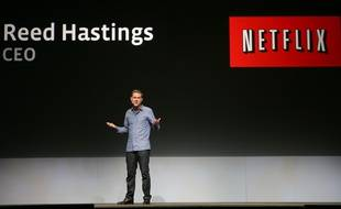 Reed Hastings, patron de Netflix, à San Francisco, le 22 septembre 2011.