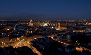 Toulouse la nuit.