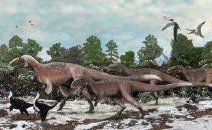 Au royaume des dinosaures, le légendaire tyrannosaure vient de se découvrir un petit cousin couvert de plumes qui, avec 9 mètres de long et un poids d'environ 1,4 tonne, devient tout de même le plus gros animal à plumes jamais identifié.